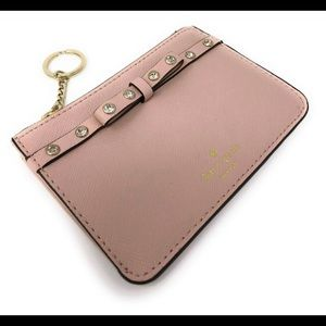 Kate Spade Bitsy Laurel Way Pink Jeweled Wallet